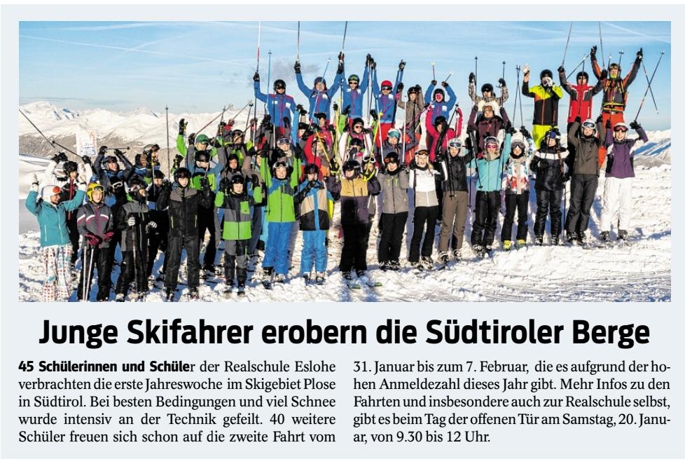 Realschule Eslohe News
